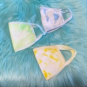 3 for $10 Tie-dye cotton face mask